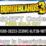 Free Golden Key [SHiFT Code]