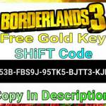 Another Free Gold Key [SHiFT Code] 🔑