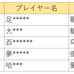 【お知らせ】11/14(木)不正なゲームプレイへの措置について