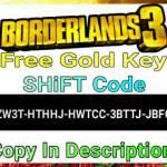 Free Gold Key [SHiFT Code]
