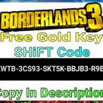 Free Gold Key [SHiFT Code]