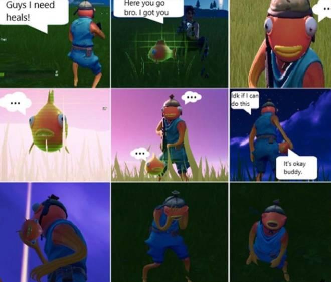 Fortnite: Memes - 🐠 🐠  image 1