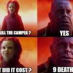What was the cost...
