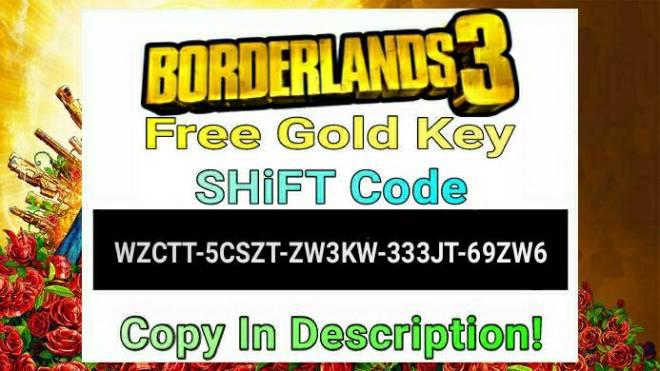 Borderlands: General - Free Gold Key [SHiFT Code] image 2