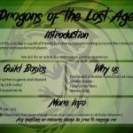 Dragons of the Lost Age Recruiting