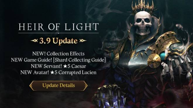 HEIR OF LIGHT: Update Preview & Patch Notes - [Notice] 3.9 Update Patch Note image 1