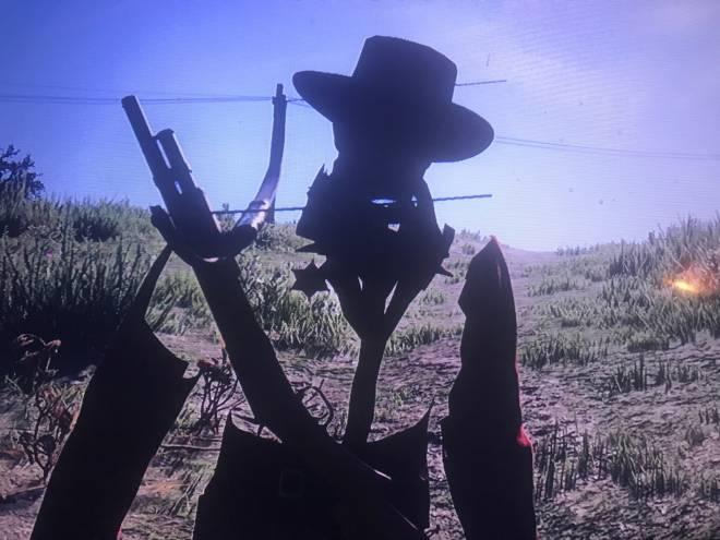 Red Dead Redemption: General - Hmmm I love being see through. image 1
