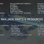 Everything you'll need to build your Railjack ship