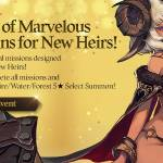 [Event] 7 Days of Marvelous Missions for New Heirs! (12/3 ~ 12/17 CST)