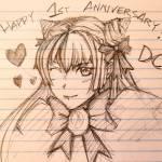 [Applu] [bqck46uyhv0z] Happy 1st anniversary!