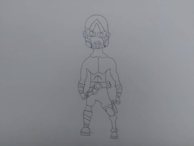 Borderlands: General - Psycho drawing image 2