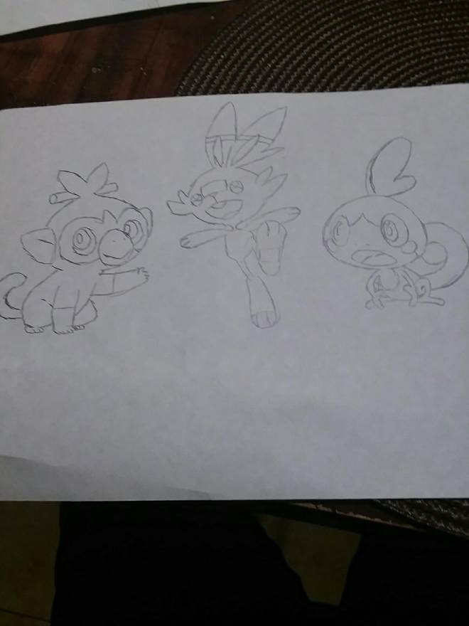 Pokemon: General - Pokemon starters image 2