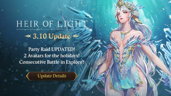 HEIR OF LIGHT: Update Preview & Patch Notes - [Notice] 3.10 Update Patch Note image 1