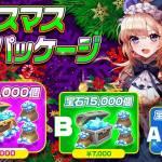 【2日間限定!クリスマス宝石パッケージ販売】