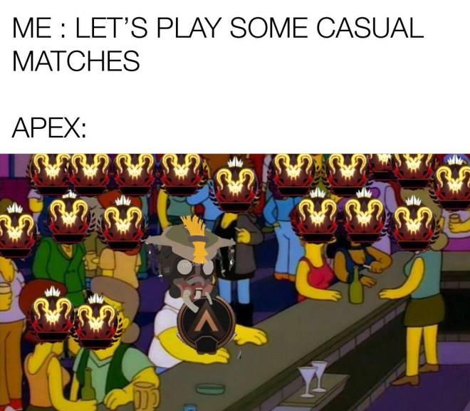 Apex Legends: Memes - Gotta love Skill Based Matchmaking  image 1