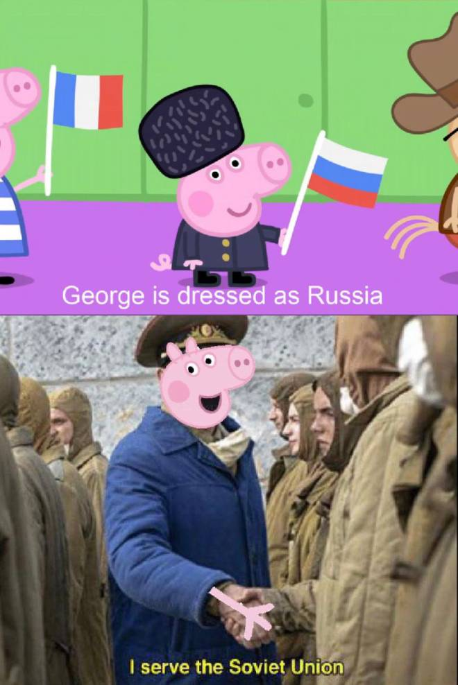 Entertainment: Memes - Russian George  image 1