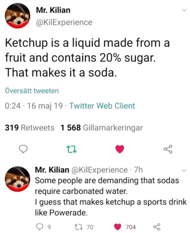 Entertainment: Memes - Ketchup vitamin c and electrolytes to replenish image 2