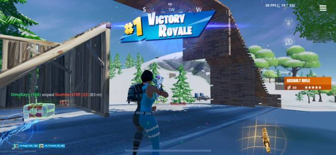 Fortnite: Battle Royale - My first solo win :') image 1