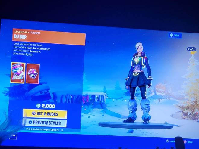 Fortnite: Battle Royale - THEY GAVE HER A STYLE😭😭😭😭😭 image 1