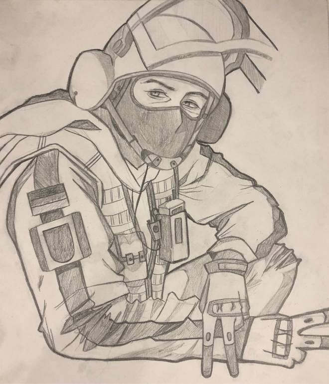 Rainbow Six: Art - Bandit Art image 2