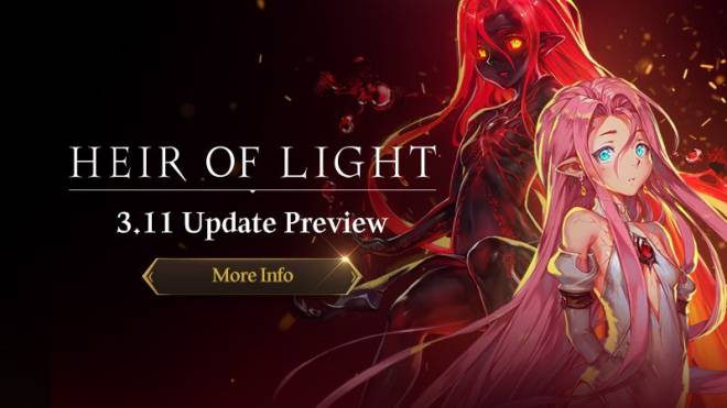HEIR OF LIGHT: Update Preview & Patch Notes - [Notice] v3.11 Update Preview image 1