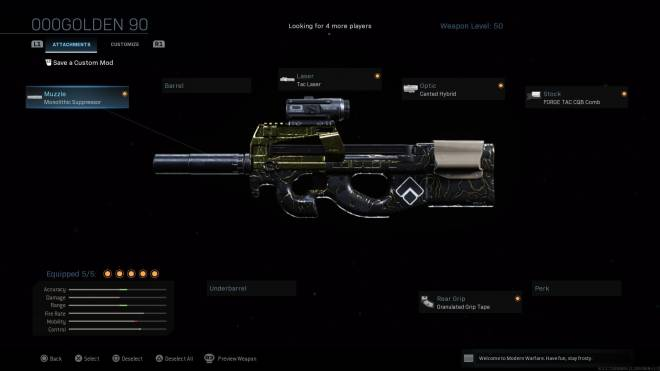 Call of Duty: General - First four gold guns I got done in morderán warfare, looking to do more.  image 4