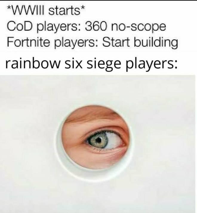 Rainbow Six: Memes - aha image 1