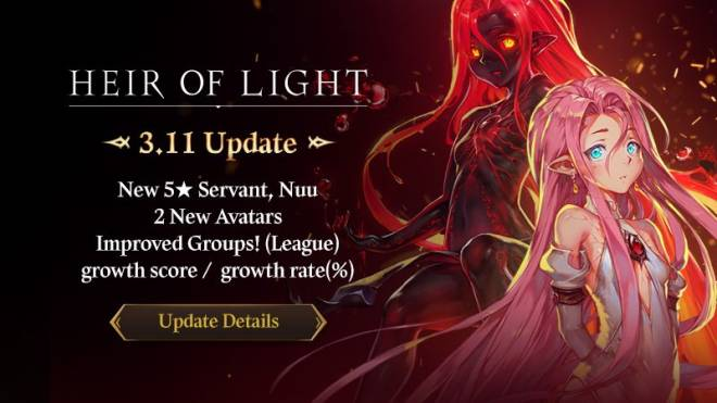 HEIR OF LIGHT: Update Preview & Patch Notes - [Notice] 3.11 Patch Notes image 1