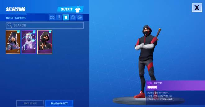 Fortnite: Battle Royale - When You Notice Everybody Losing There Ikonik Skins image 2