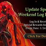 [Event] Update Special Weekend Log In Event (1/24 ~ 1/26 CST)