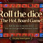 [Event] Roll the dice! the HoL Board Game! Event (1/28 ~ 2/24 CST)