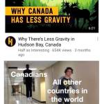 Canadians with their less gravity... 😬