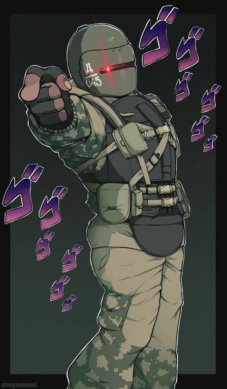 Rainbow Six: Memes - The Tachanka player after an enemy spawn peeked him last attacking round image 1