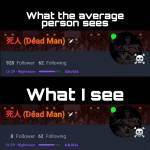 What I see