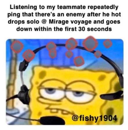 Apex Legends: Memes - I'm so glad they allow you to mute pings image 1