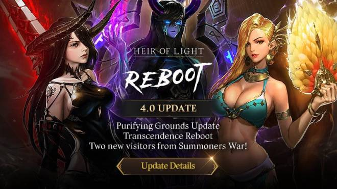 HEIR OF LIGHT: Update Preview & Patch Notes - [Notice] 4.0 Update Patch Note image 1