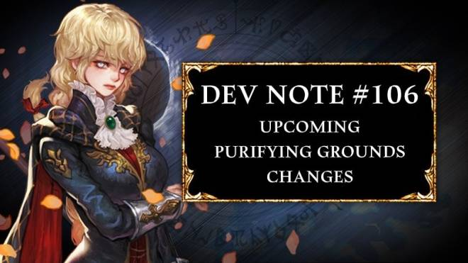 HEIR OF LIGHT: Dev Notes - Dev Note #106: Upcoming Purifying Grounds Changes image 1