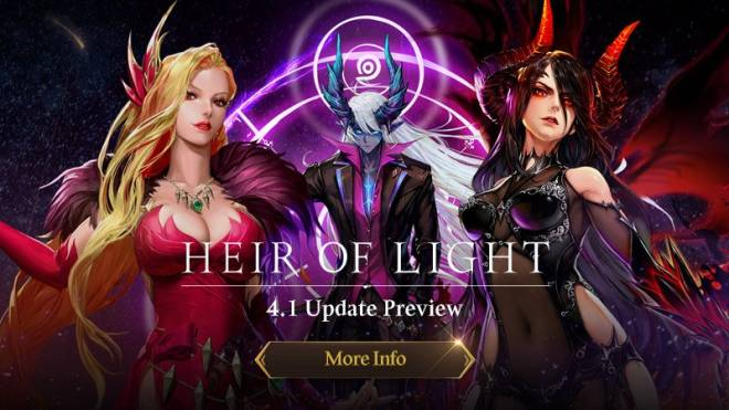 HEIR OF LIGHT: Update Preview & Patch Notes - [Notice] 4.1 Update Preview image 1