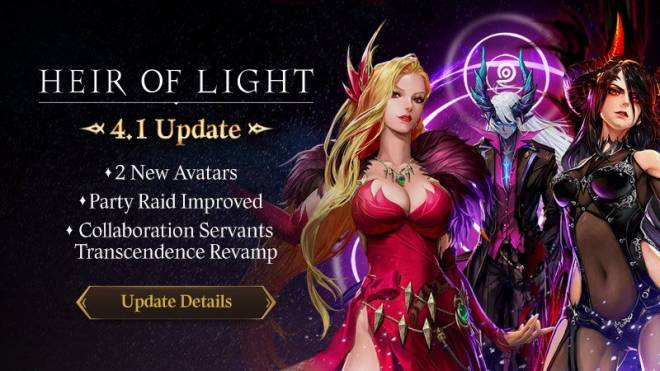 HEIR OF LIGHT: Update Preview & Patch Notes - [Notice] 4.1 Update Patch Note image 1