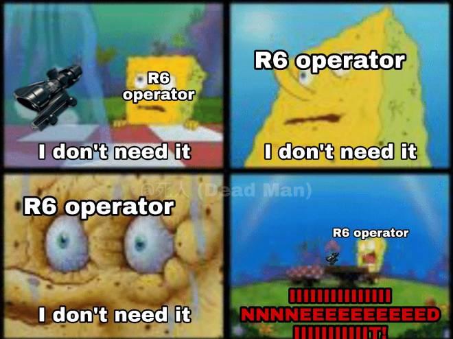 Rainbow Six: Memes - I don't need it.... image 1