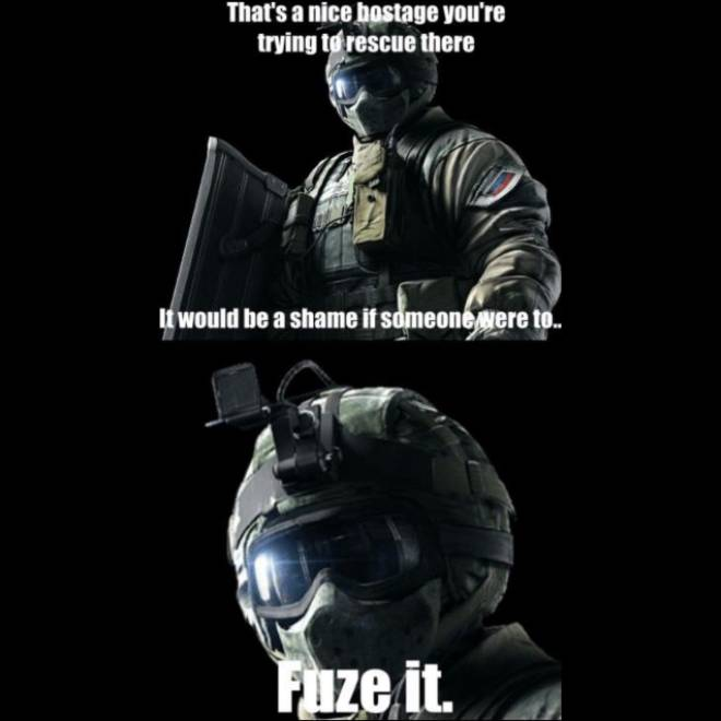 Rainbow Six: Memes - I did this on my first round ever!🤣 image 1