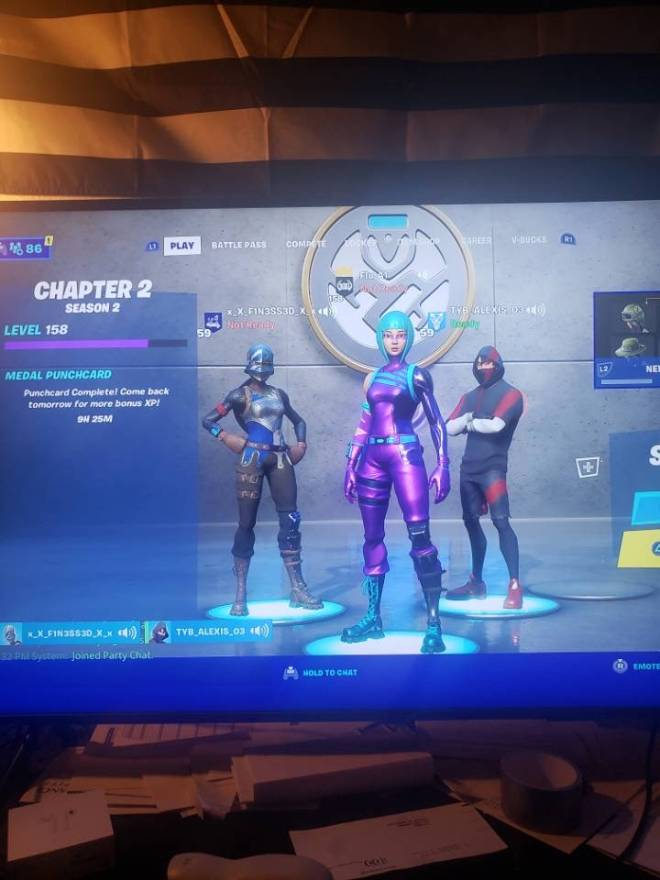 Fortnite: General - Fortnite: Needa 4th, can't be a bot gotta be good, NA-W only, gotta have a fucken mic cuhz.! image 1