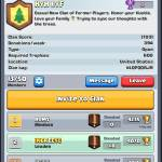 Feel Free To Join My Clan