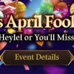 [Event] CM_Heylel's April Fools' Day Event (4/1 ~ 4/6 CDT)