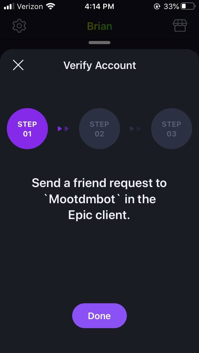 Moot: Notice - Moot Update v3.1! Verify Your Epic Games Account on Moot! image 4