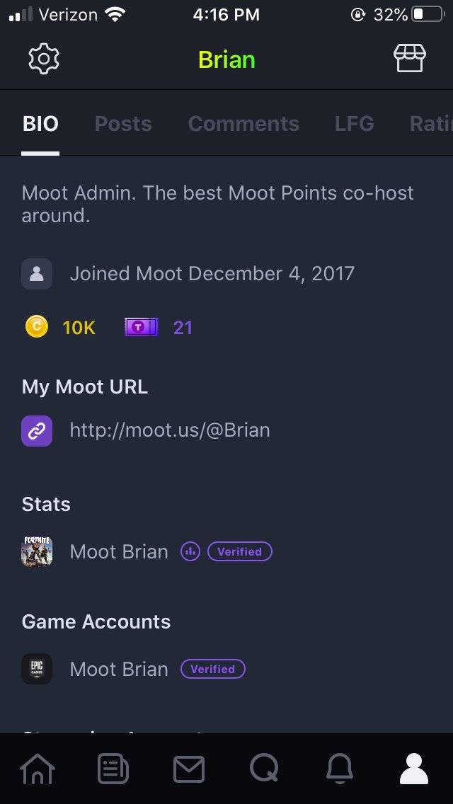 Moot: Notice - Moot Update v3.1! Verify Your Epic Games Account on Moot! image 8