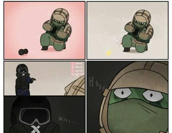 Rainbow Six: Memes - As A Mute Main I Can Confirm This. image 2