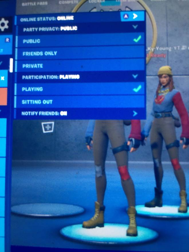 Fortnite: General - Join up we doing a time add my epic Braylen on iOS image 1