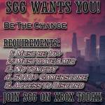 SGG is looking for new members for are community we have over 600 members and are always looking fo