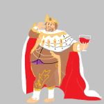 ID bqq4i93slusj, not a costume but heres my 30 minute paint art of great lord and savior